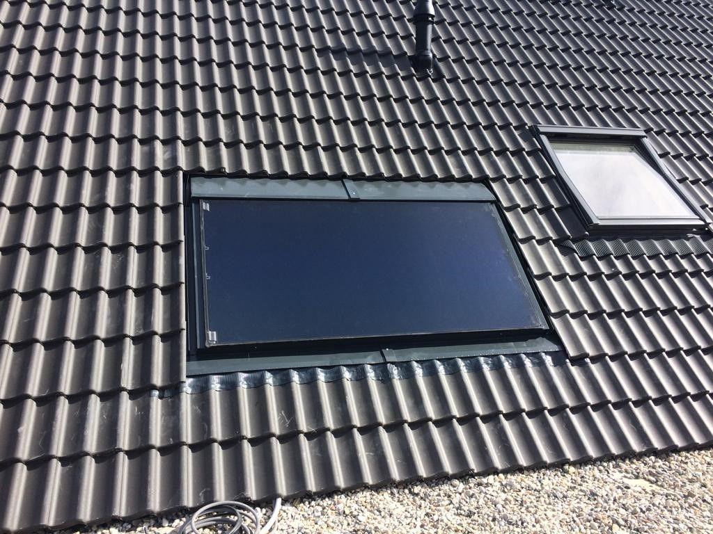 Zonneboiler van veldhuisen techniek